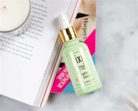 Pixi Hydrating Serum two skincare gems from pixi thirteen thoughts