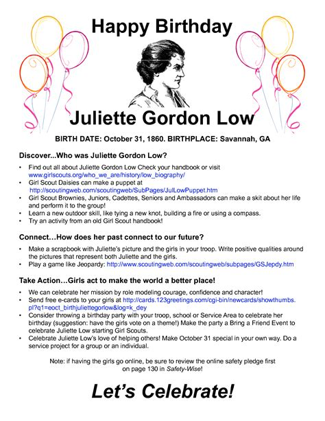 Juliet Gamis Syari juliette gordon low birthday coloring pages coloring