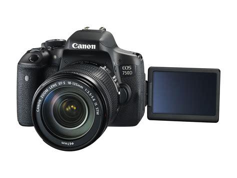 Kamera Canon Dslr Untuk Pemula canon rilis eos 760d dan eos 750d untuk pemula sooperboy