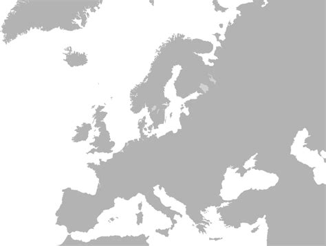 file blank map europe no borders svg