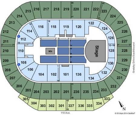 rexall place floor plan northlands coliseum tickets and northlands coliseum