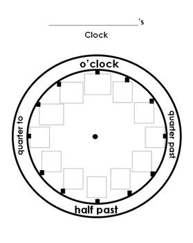 clock worksheets cut and paste cut and paste the numbers on the clock worksheet