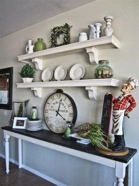 lovely Open Shelving Living Room #3: traditional-kitchen.jpg