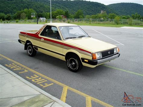 brat car 1982 subaru brat dl 1 8l 4 cyl 4 speed 60k miles
