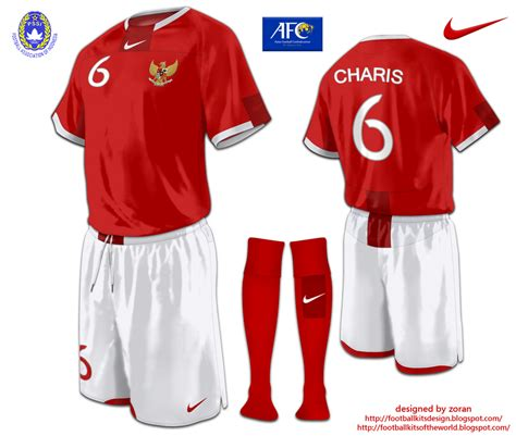 T Shirt Indonesia 04 football kits design indonesia kits