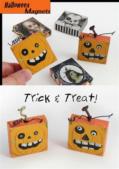 Diy Smash And Grab Gift Card - fun diy halloween pumpkin magnets halloween decorations i love and pumpkins