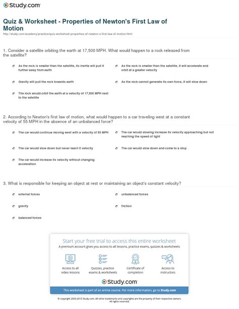 And Motion Worksheet Answers by Laws Of Motion Worksheet Lesupercoin Printables Worksheets