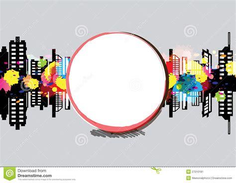 design urban art art banner urban design stock image image 27010181