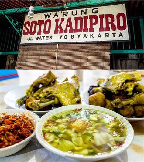 jogja wisata soto kadipiro asli