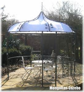 Metal Pergola Uk by Mongolian Style Metal Garden Party Gazebo