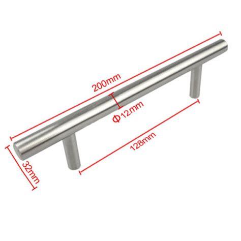 stainless steel cabinet handles australia 20pack t bar stainless steel kitchen cabinet cupboard door