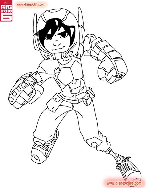 coloring pages for big hero 6 hiro coloring page big hero 6 photo 37664412 fanpop