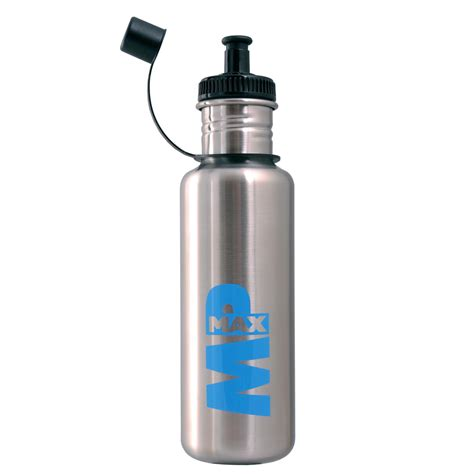 Dijamin Oxone Sport Bottle With Stainless mp max stainless steel sports bottle brushed stainless steel buy mankind