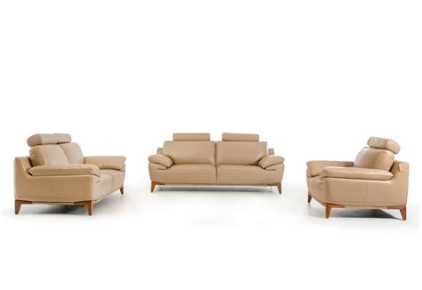 contemporary sofa sets contemporary taupe leather sofa set vg410 leather sofas