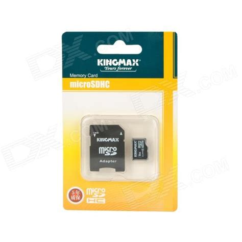 Microsd Kingmax 16gb genuine kingmax micro sd transflash card with sd card adapter 16gb class 6 free shipping