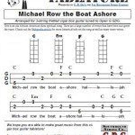 row the boat ashore slave spiritual amazing grace 3 string open g gdg cigar box guitar