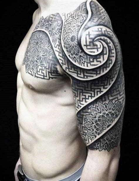 half sleeve tattoo for men top 100 best sleeve tattoos for cool designs and ideas