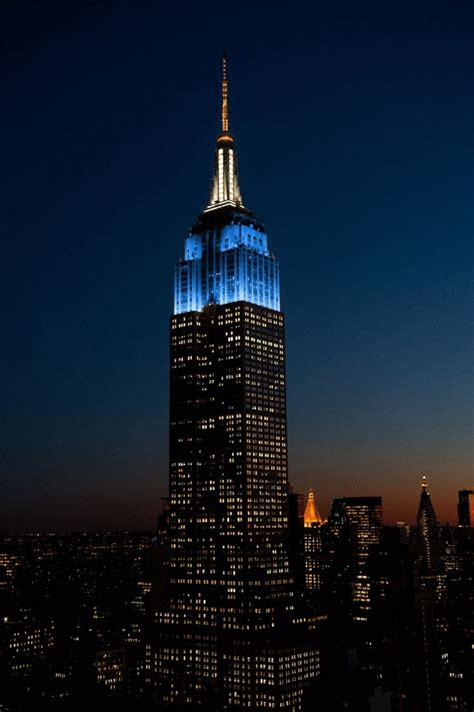 empire state color empire state building in new york inkl insider tipps