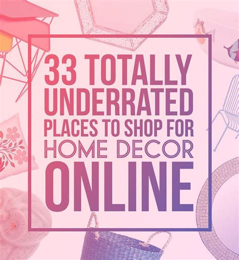 best places to shop for home decor 33 totally underrated places to shop for home decor online
