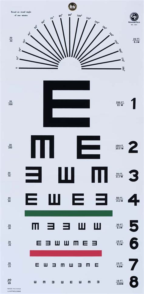 printable eye test chart australia examining the fascinating typographic history of eye charts