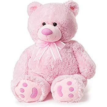 Amazon.com: Huge Teddy Bear - Pink: Toys & Games Giant Pink Teddy Bear