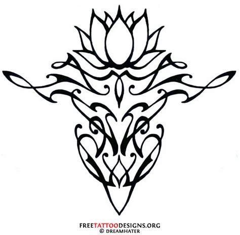 tattoo lotus flower tribal tribal lotus flower tattoo designs memes