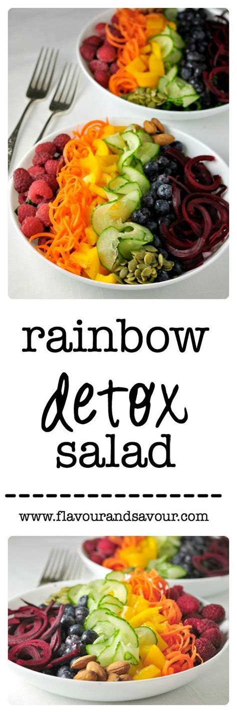 Detox Medley by 17 Best Ideas About Rainbow Salad On Honey