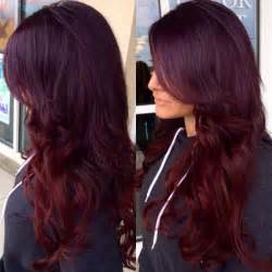 4vr on top with pravana purple overlay and pravana red on ends hair