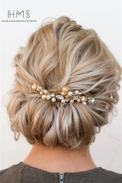 27 chic updos for medium hair hair and beauty short