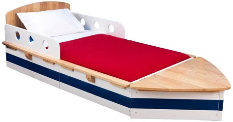 Boat Mattresses Uk by Kidkraft Boat Toddler Bed Junior Beds Boat Shaped Bed