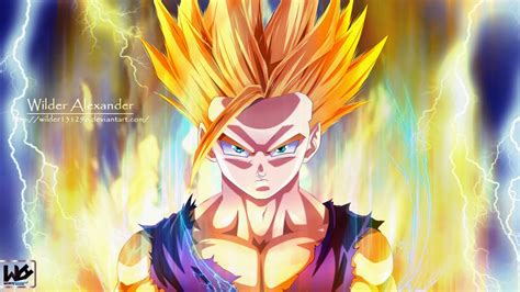 wallpaper dragon ball z gohan dragon ball z hd wallpapers zdiscover