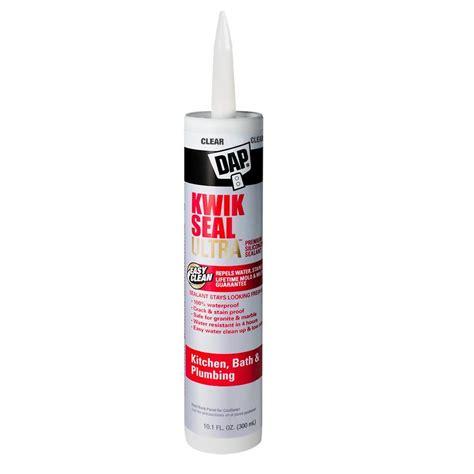 clear bathroom sealant dap kwik seal ultra 10 1 oz clear premium kitchen and