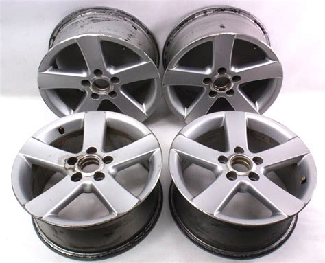 1999 audi a4 rims set of stock rims alloy wheels 16 quot 5x112 vw passat b5 audi