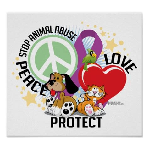 When Did They Stop Paper Food Sts - stop animal abuse plp posters zazzle