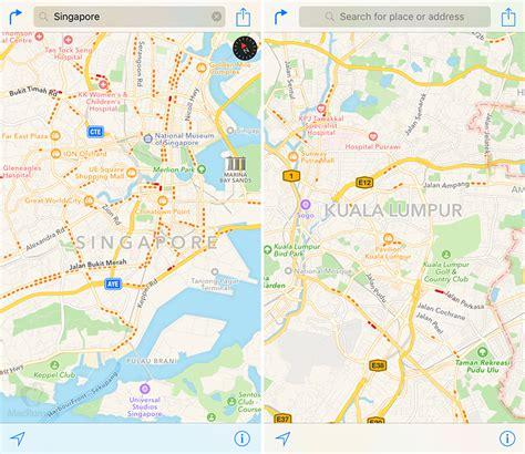 Macbook Malaysia apple maps adds traffic data for malaysia and singapore lowyat net