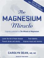 the magnesium miracle second edition books the magnesium miracle book by dr carolyn dean 3