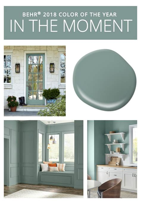 2017 paint colors of the year 2018 colors of the year