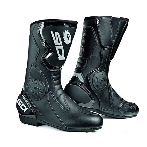 sidi motorcycle boots sidi black rain evo motorcycle boots touring boots