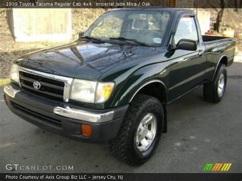 1999 Toyota Tacoma 4x4 Imperial Jade Mica 1999 Toyota Tacoma Regular Cab 4x4