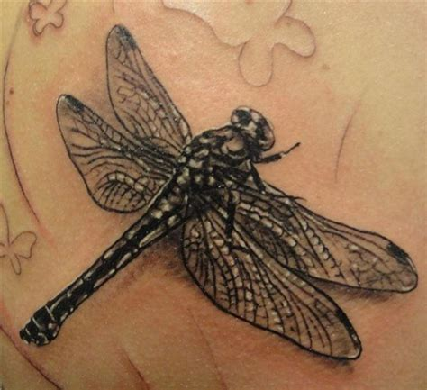 realistic dragon tattoos black realistic dragonfly tattooimages biz