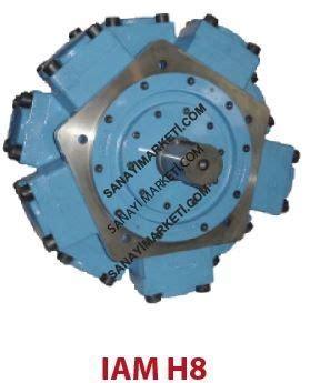 Lu Hid Provision Motor iam 8000 h8 radyal p箘stonlu motoru h箘dromotor italgroup