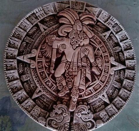 Fotos Calendario Original Calendario Azteca En Hueso 100 Original 399 00