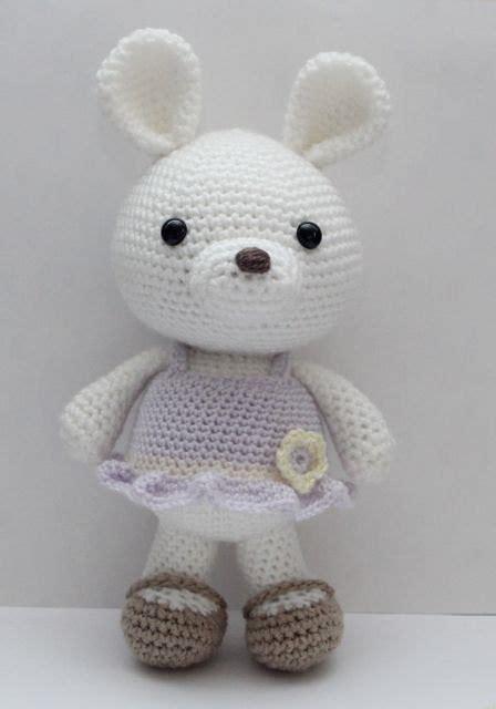 amigurumi patterns etsy amigurumi crochet pattern lavender bunny by littlemuggles