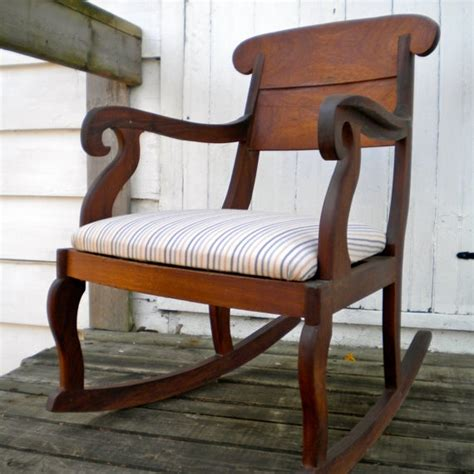 antique upholstered chairs antique upholstered rocking chair antique furniture
