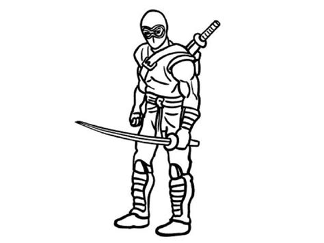 coloring page ninja ninja coloring pages free printable coloring home