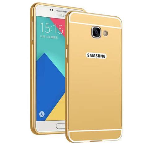 Samsuung Galaxy A7 A710 Aluminum Metal Bumper Mirror Casing plating mirror for samsung galaxy a7 2017 aluminum