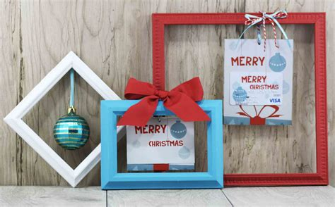 Christmas Card Gift - free printable merry christmas gift card holder gcg