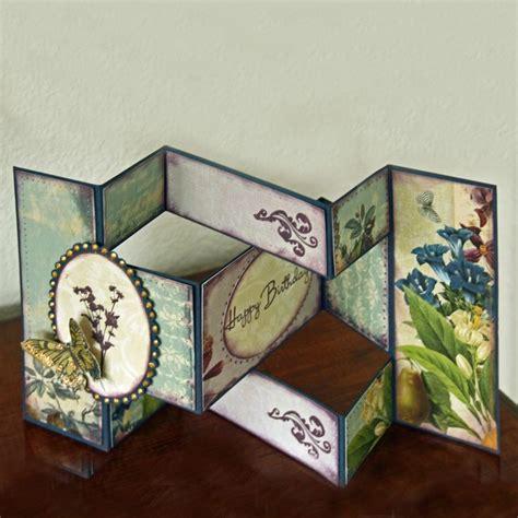 how to make tri fold cards tri fold card cards fancy folds