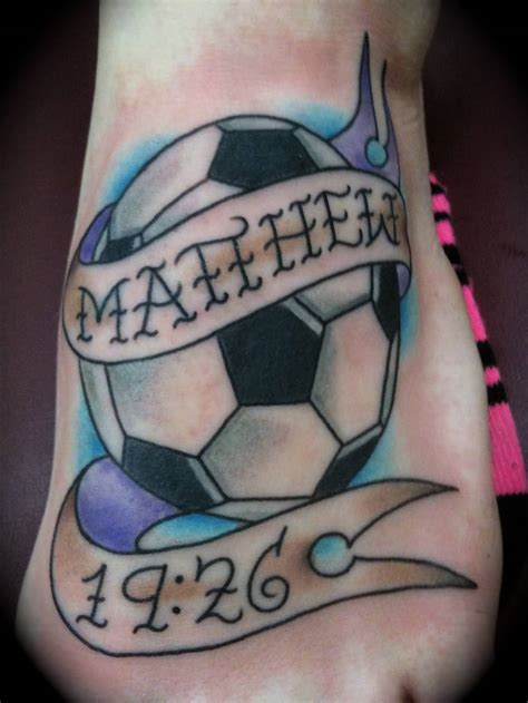 soccer ball tattoo designs 35 best football tattoos ideas