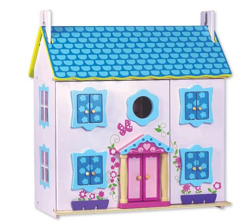 kmart dolls house classic world toys wood doll house with furniture